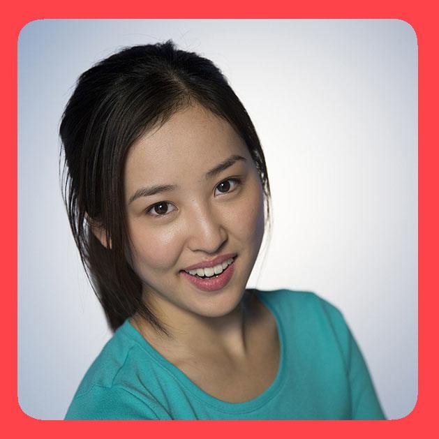 asian girl smiling portrait