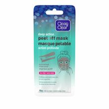 emballage du masque pelable au charbon actif Clean and Clear