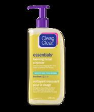 CLEAN & CLEAR ESSENTIALS® Foaming Facial Cleanser for Sensitive Skin