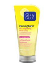 Exfoliant facial luminance CLEAN & CLEAR® MORNING BURST®