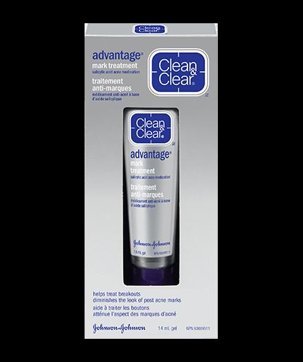 CLEAN & CLEAR ADVANTAGE® Mark Treatment
