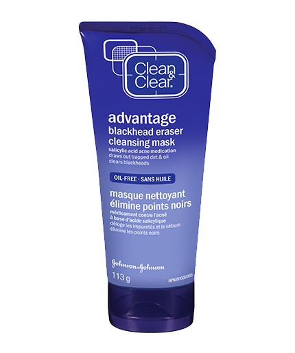 CLEAN & CLEAR® BLACKHEAD ERASER® Cleansing Mask