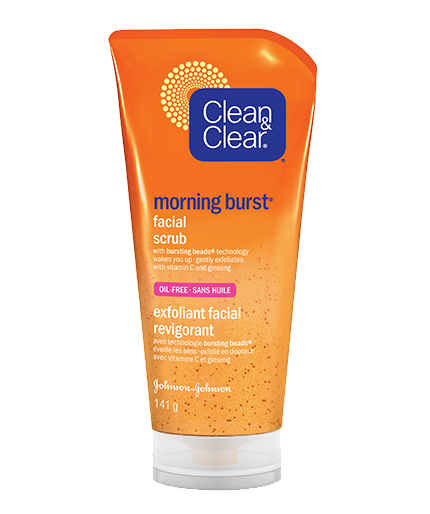 CLEAN & CLEAR® MORNING BURST® Facial Scrub