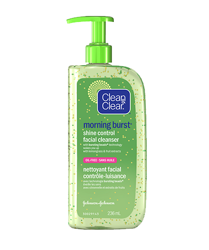 CLEAN & CLEAR® MORNING BURST® Shine Control Facial Cleanser